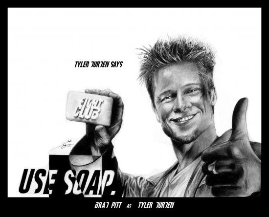 Brad Pitt par Monkey-Jack